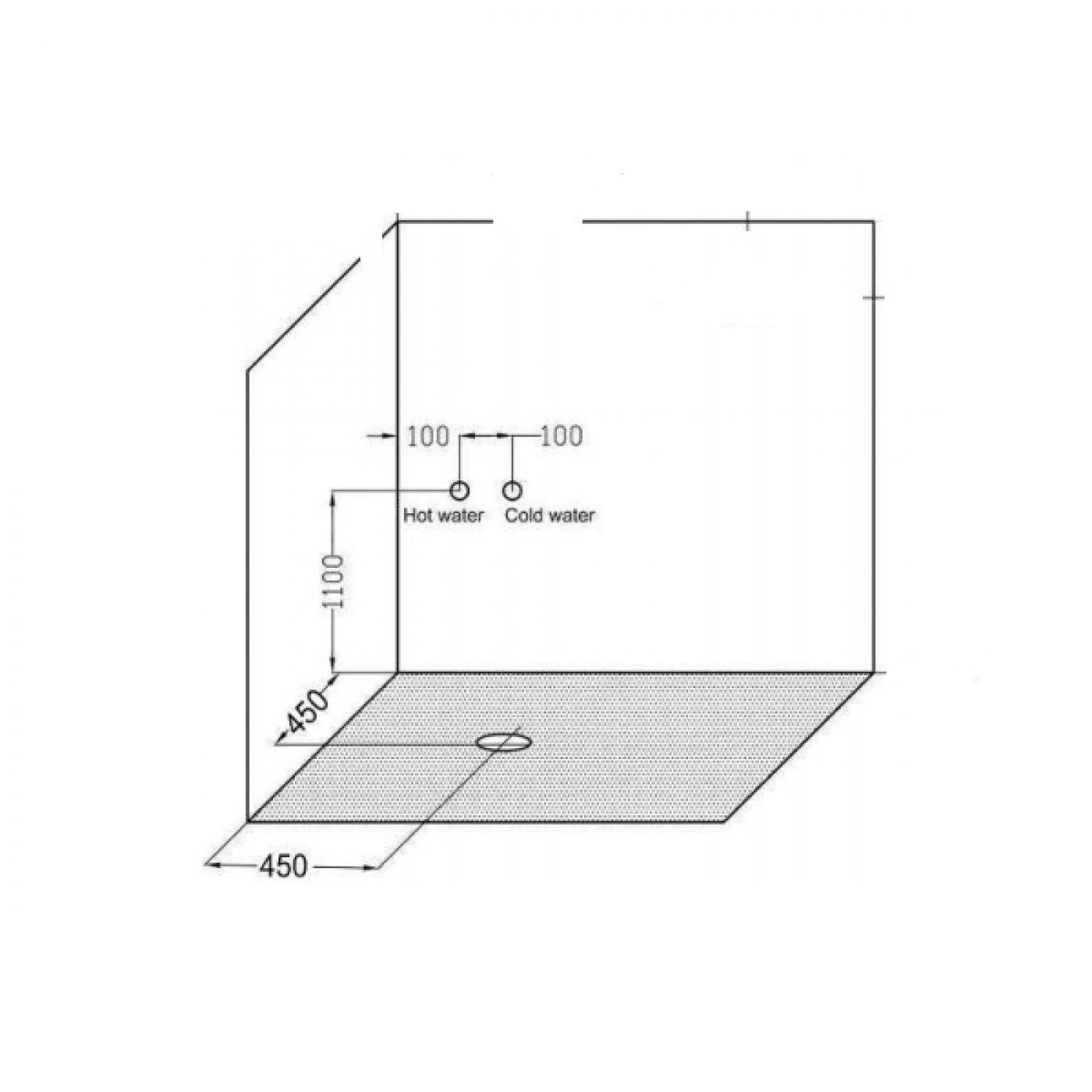 BOX DOCCIA IDROMASSAGGIO 80 X 80 CL05 Quick Line