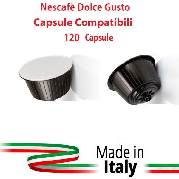 NESCAFE' DOLCE GUSTO 120 CAPSULE COMPATABILI