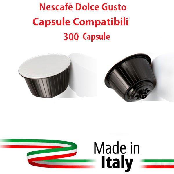 NESCAFE' DOLCE GUSTO 300 CAPSULE COMPATABILI