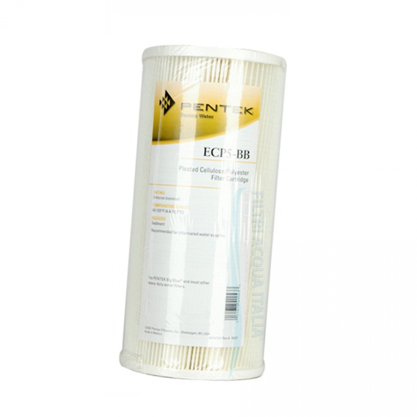 CARTUCCIA PENTEK ECP5-BB 10 Pollici Micron 5