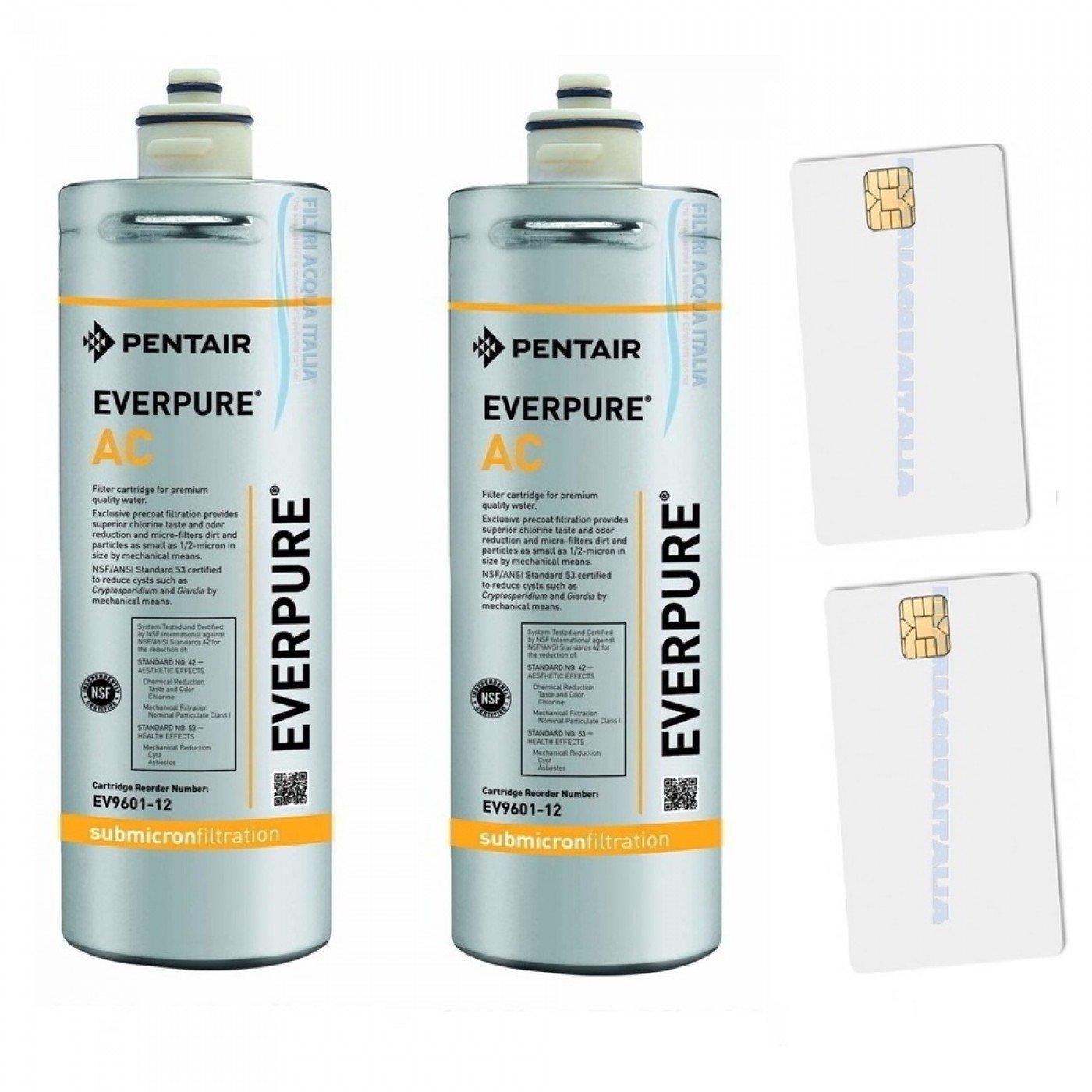 2 Filtri Everpure AC + Scheda Sblocco