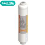 """FILTRO IN LINEA CARBONE ATTIVO GREEN FILTER BATTERIOSTATICO 2 X 10"""""""