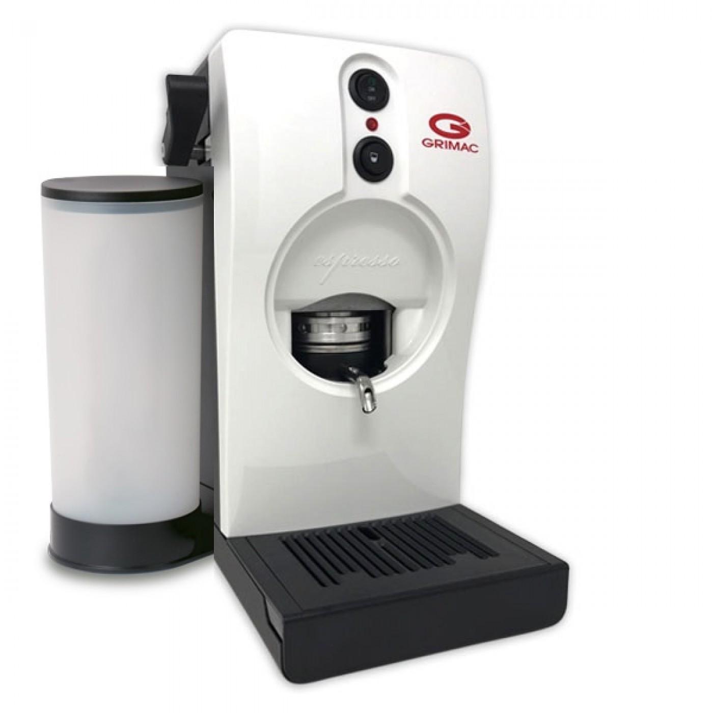 Grimac Macchina Caffè a Cialde Colore Bianca