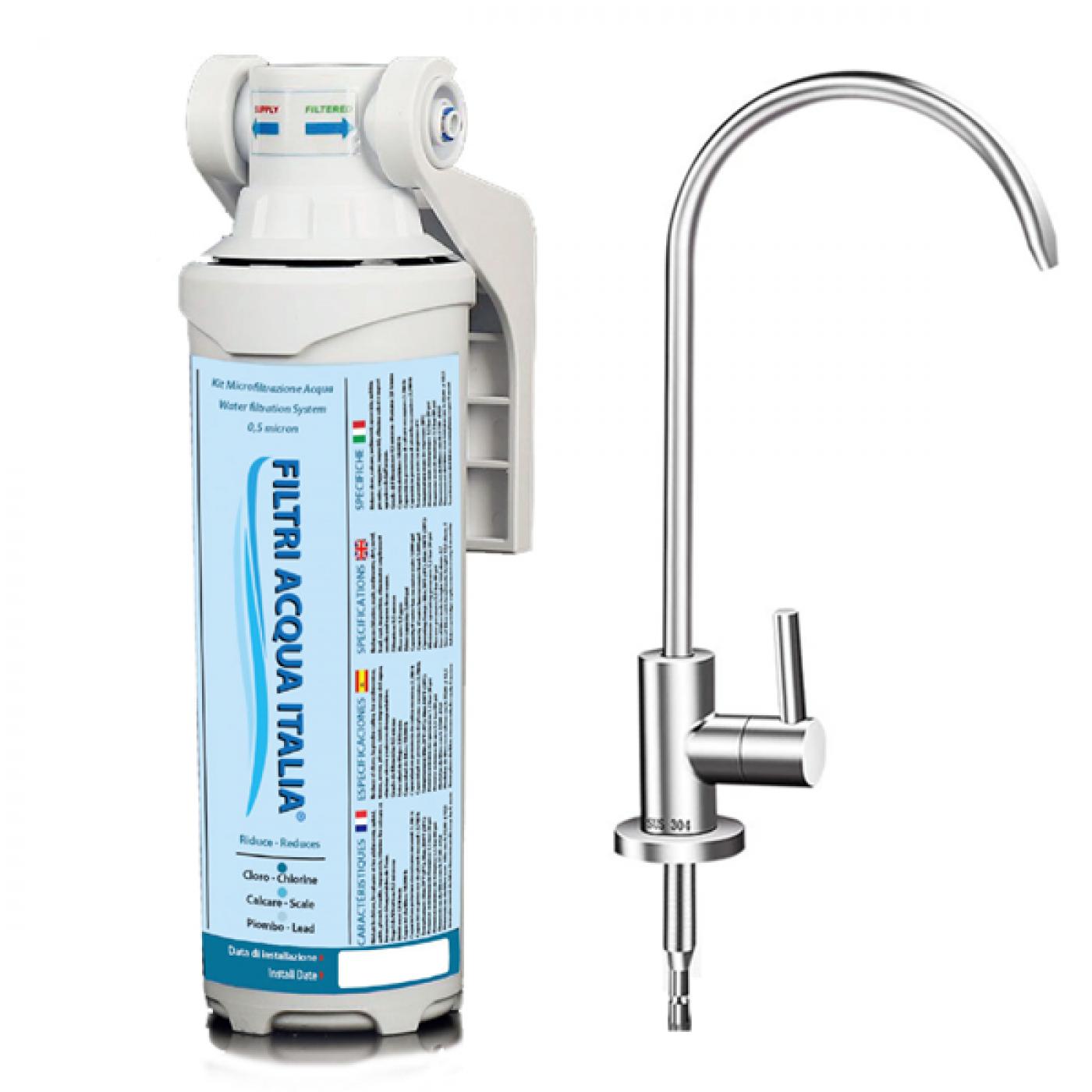 Kit Microfiltrazione Acqua di Filtri Acqua Italia®