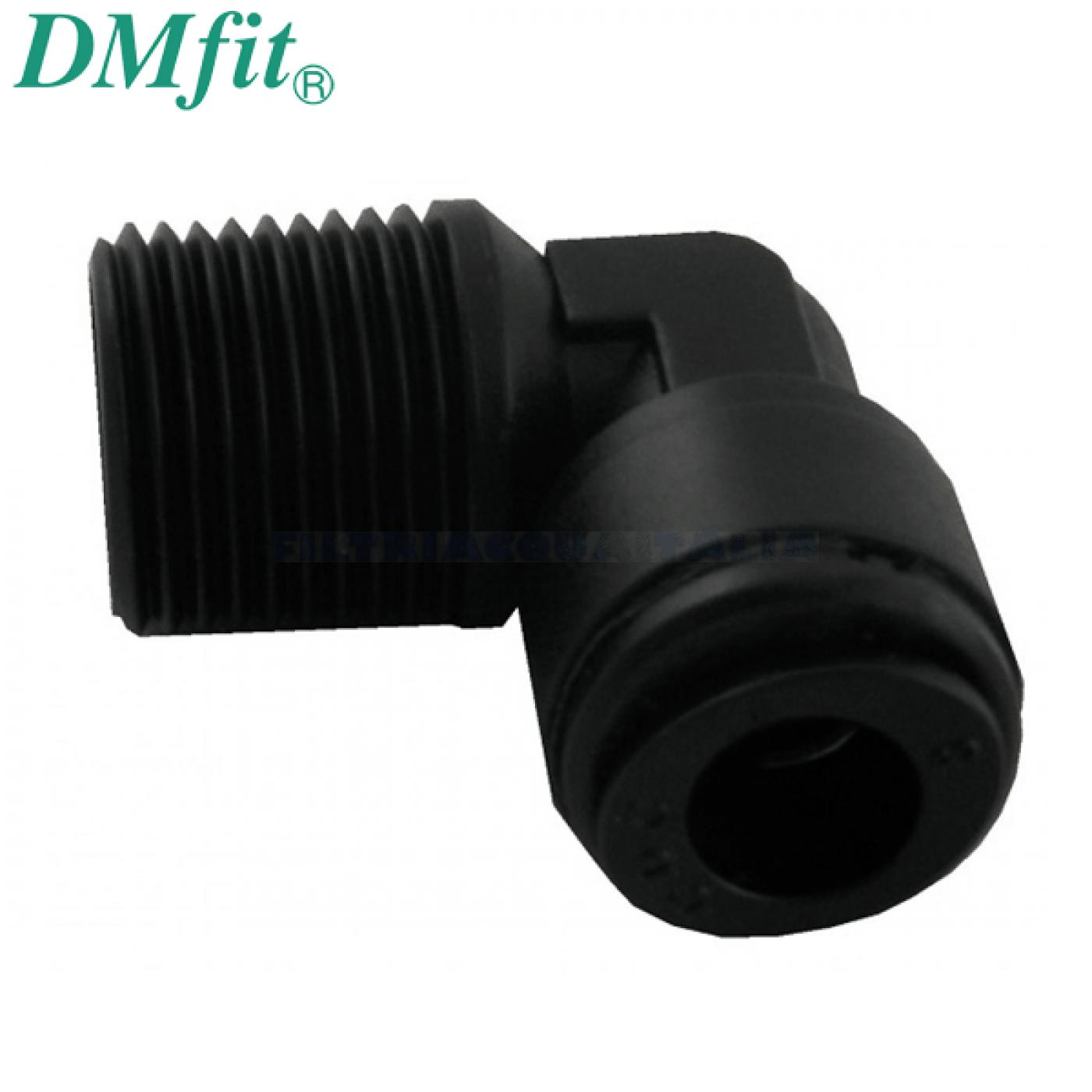 "GOMITO FILETTATO 3/8"" x 8 mm Tubo DMFIT AME0806M"