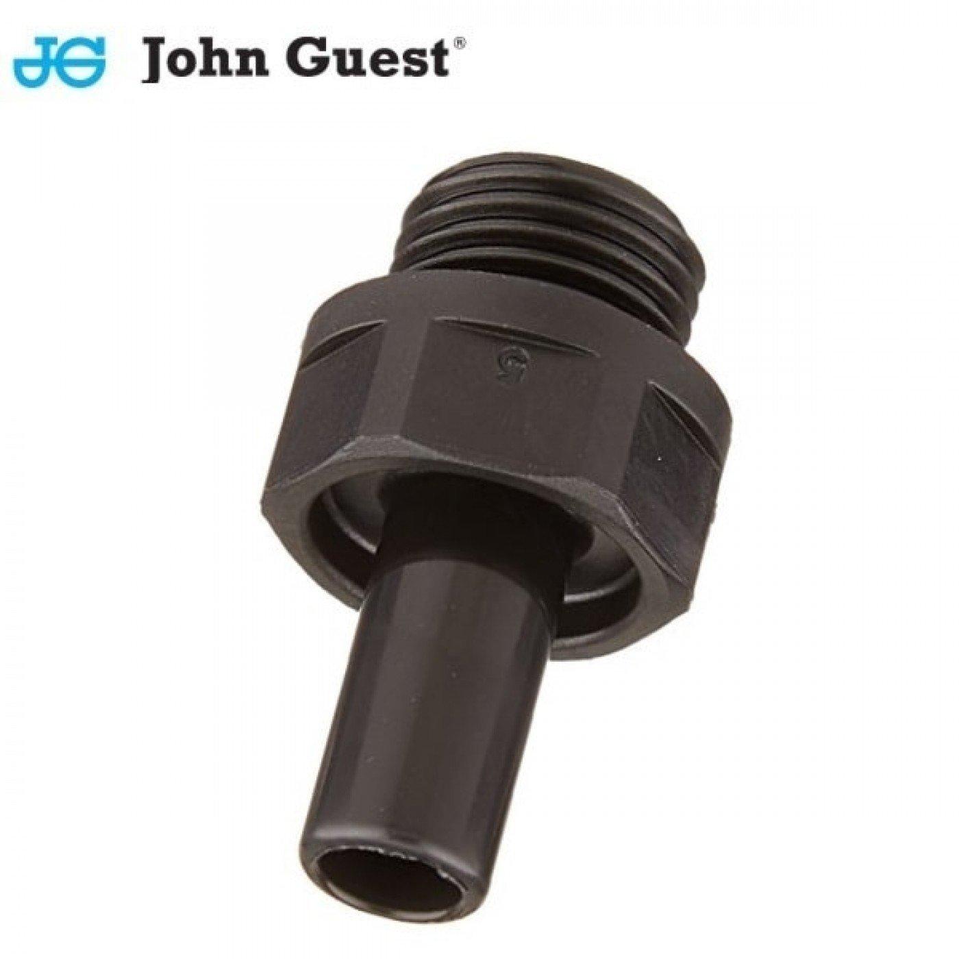 TERMINALE A CODOLO 8 mm FILETTO 1/8 JOHN GUEST PM050801E