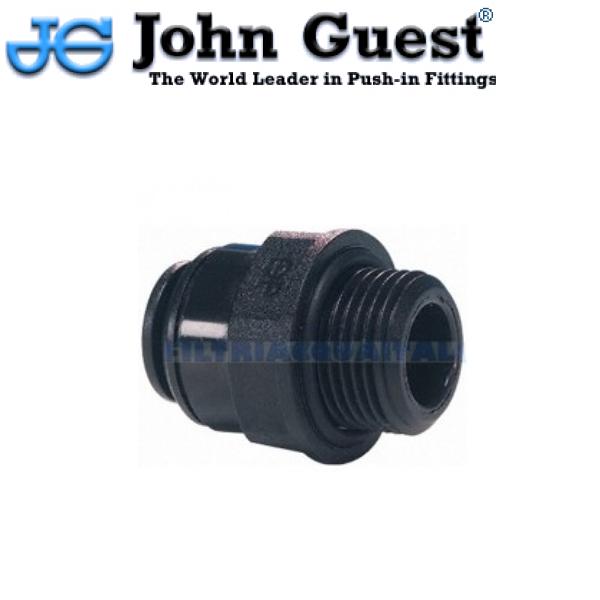 """TERMINALE DIRITTO 8 mm X 3/8"""" JOHN GUEST PM010813E"""