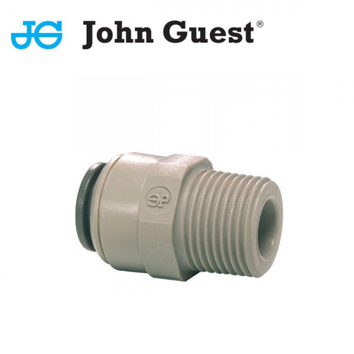 """TERMINALE DIRITTO TUBO 1/2"""" X 3/8"""" FILETTO JOHN GUEST PI011623S"""