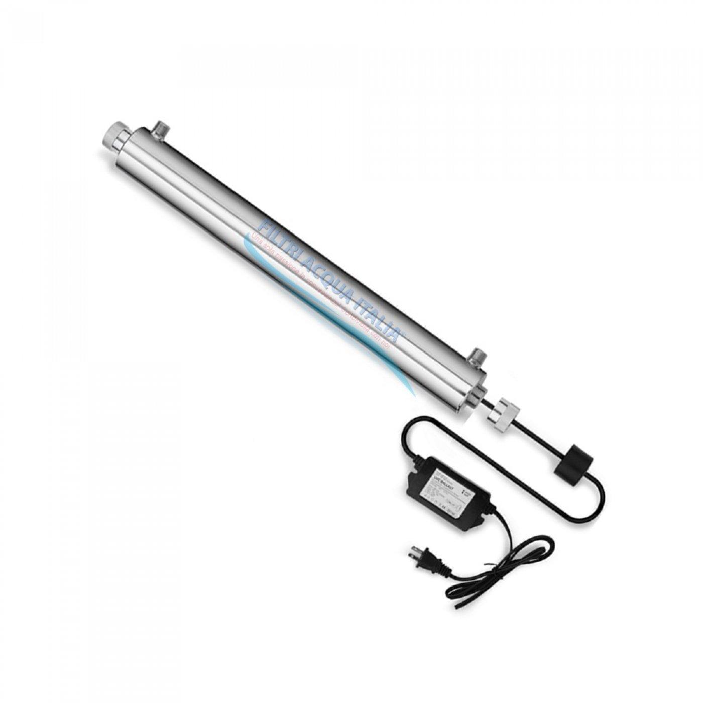 Sterilizzatore U.V. Inox 24 Watt
